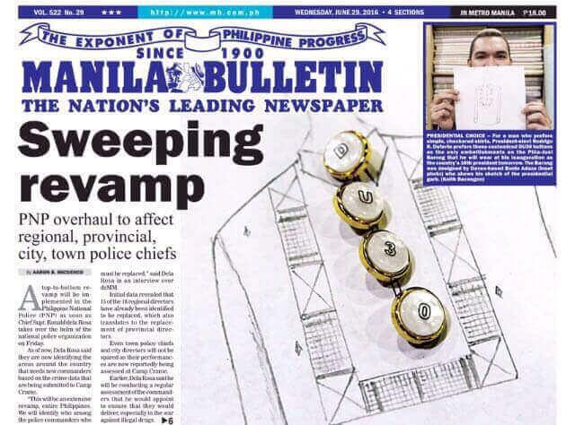 上好鈕釦匠心獨具,驚艷菲律賓總統服裝設計師
