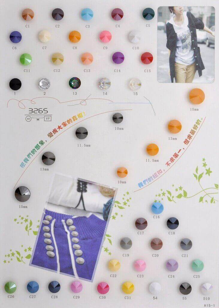 acrylic button catalogue-A15-1