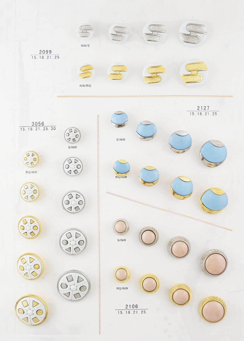 fashion buttons catalogue
