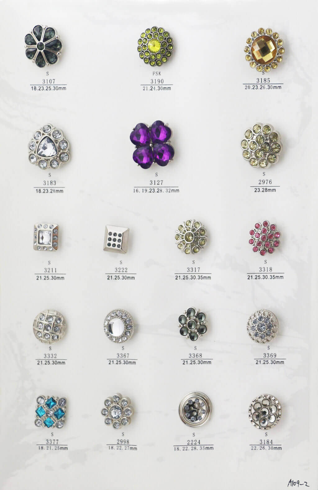 A109-2-bulk-rhinestone-button-catalogue
