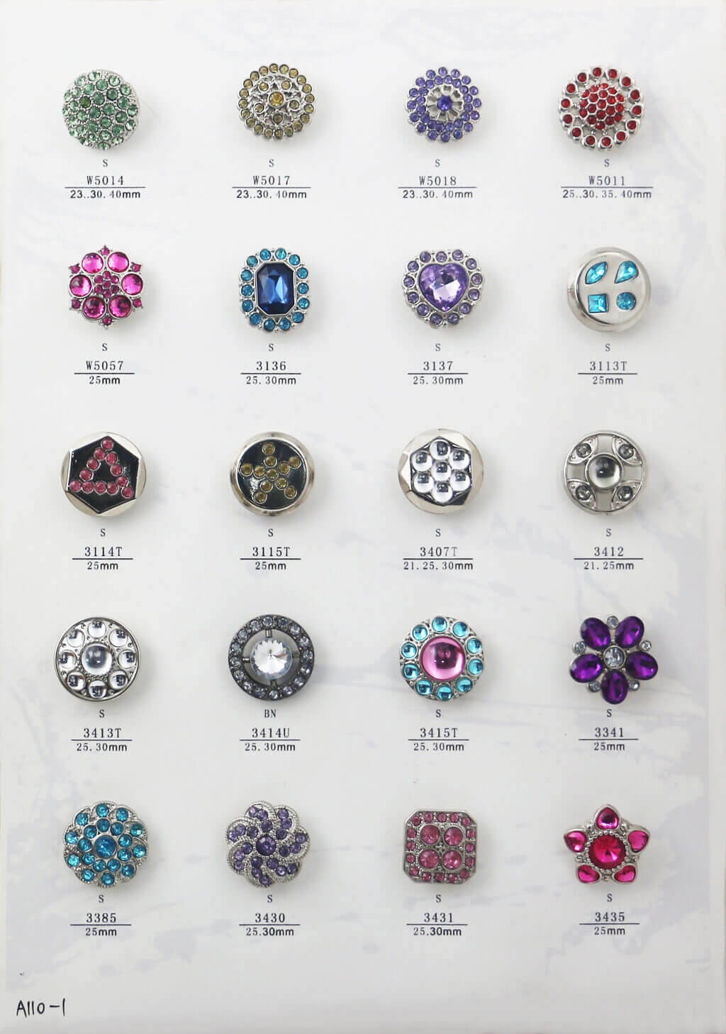 A110-1-bulk-rhinestone-button-catalogue