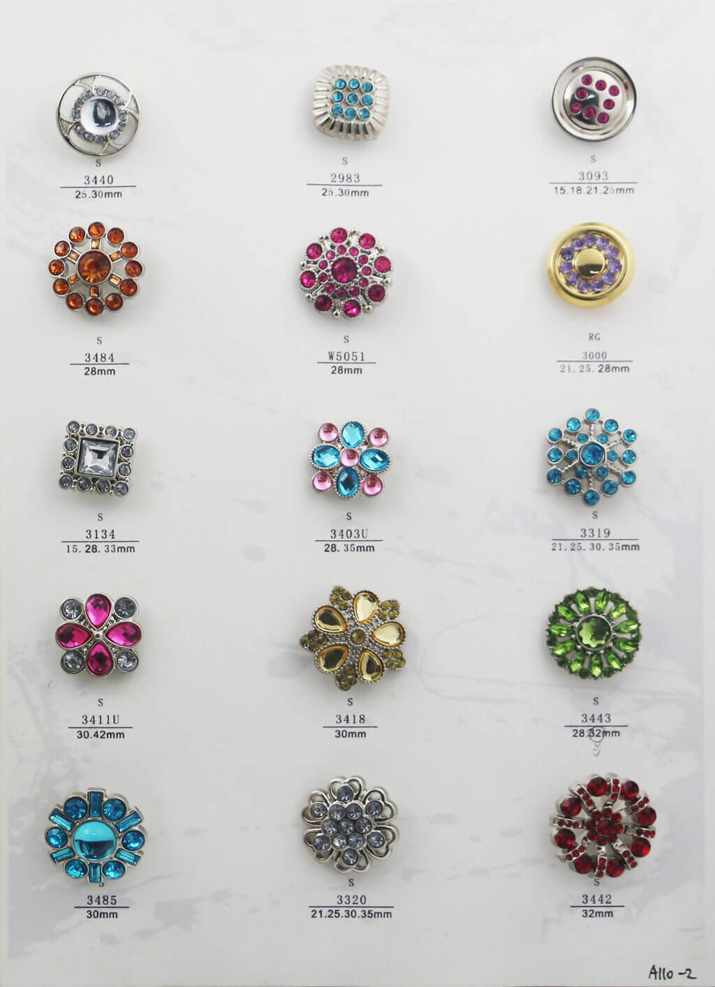 A110-2-bulk-rhinestone-button-catalogue