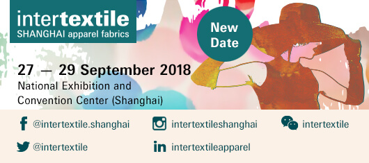 Intertextile Shanghai 2018 coming soon in September! SUNMEI will attend