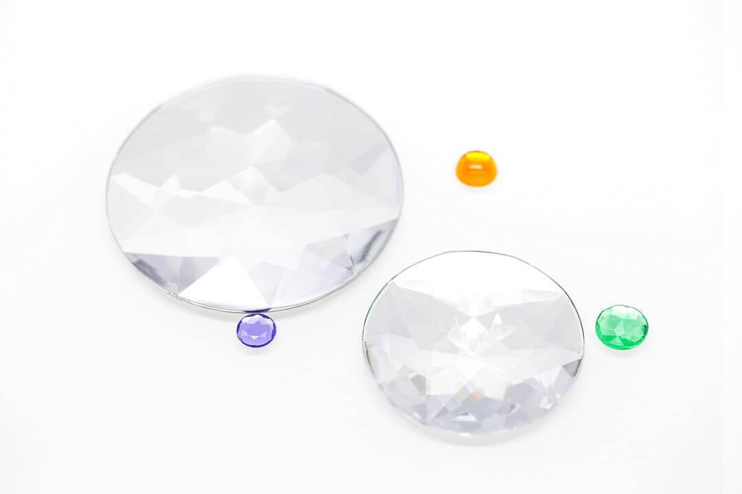 large flat back rhinestones, large plastic gems