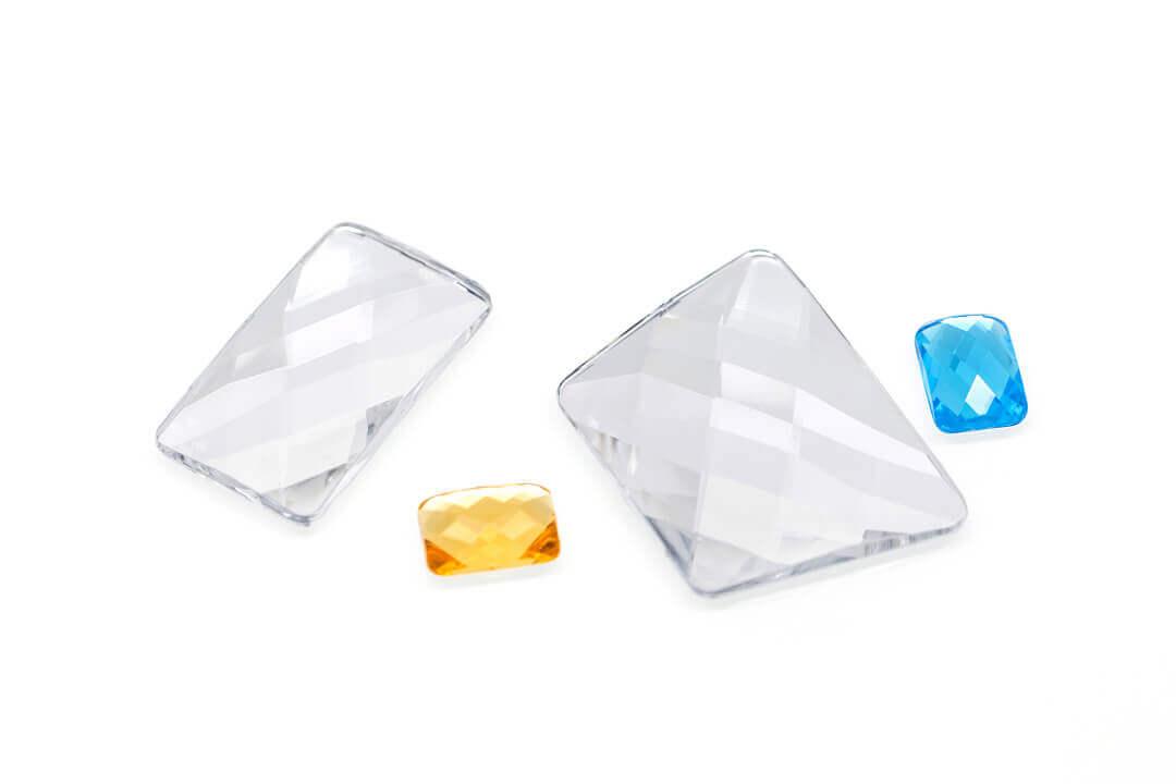 large flat back rhinestones, large acrylic gemstones