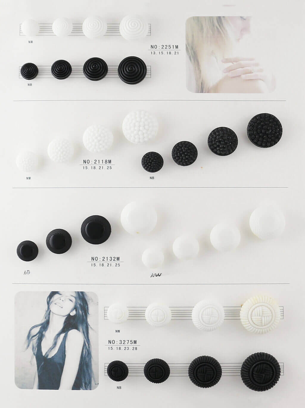 shank nylon button catalogue