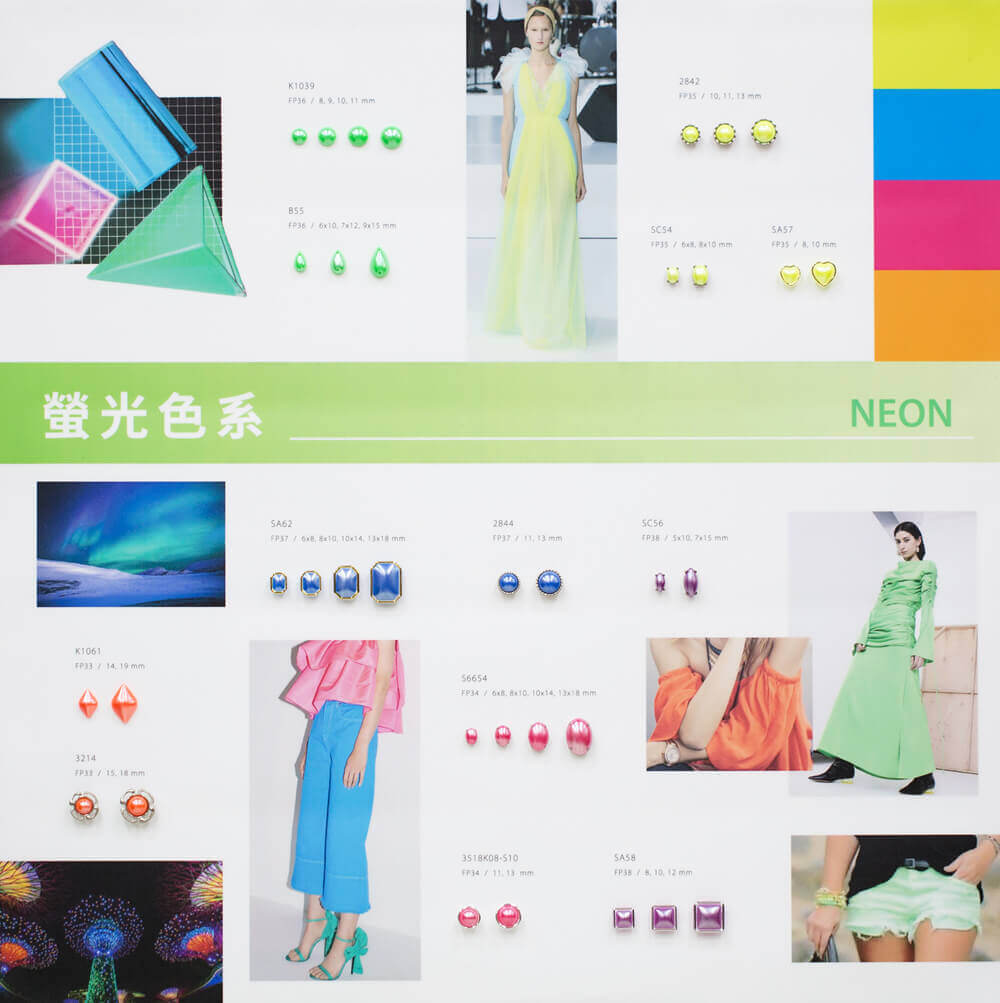 itsa18 board-neon color trends for garment accessories