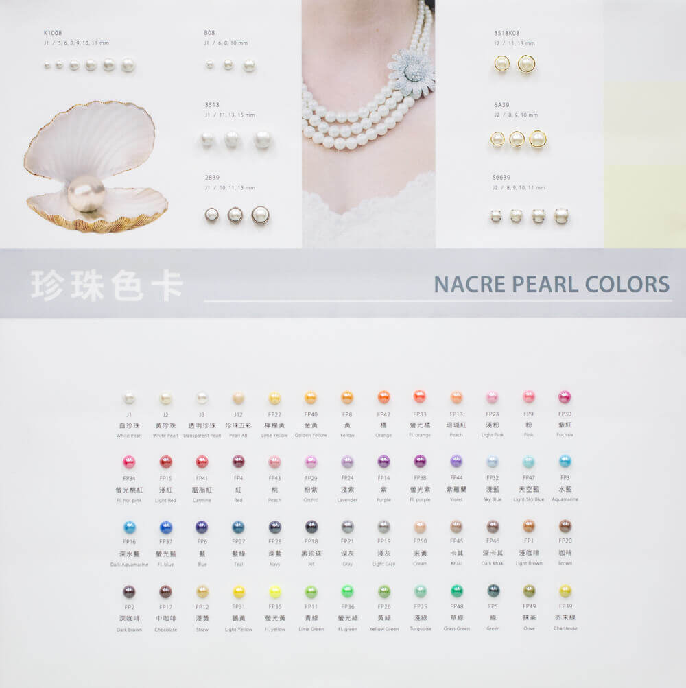 itsa18 board-pearl color for fashion design