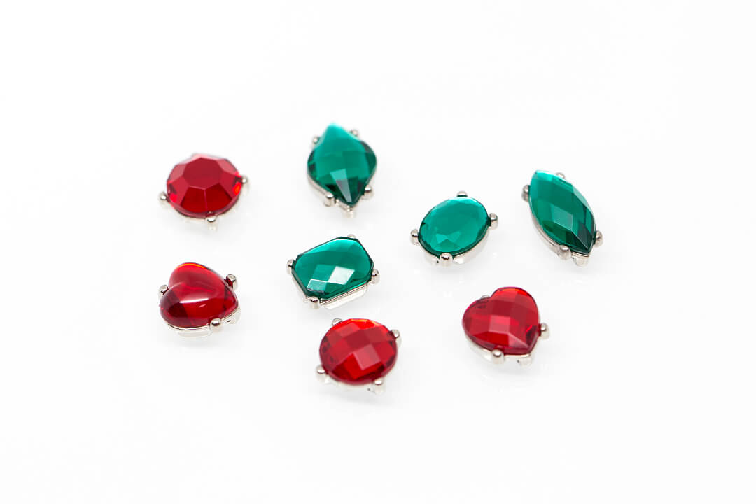 green and red rhinestones for jewelry-12