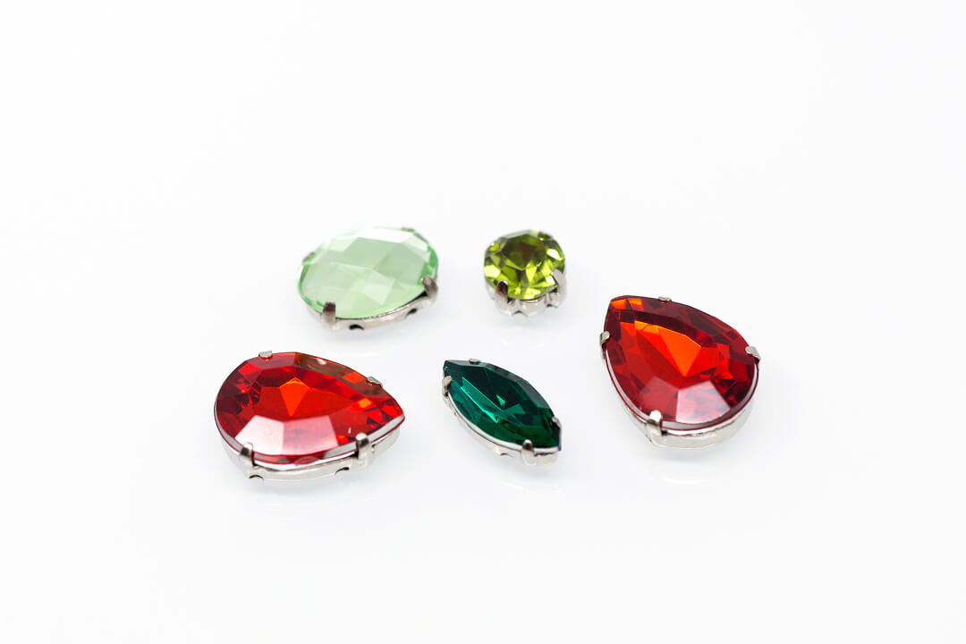 green and red rhinestones for jewelry-6