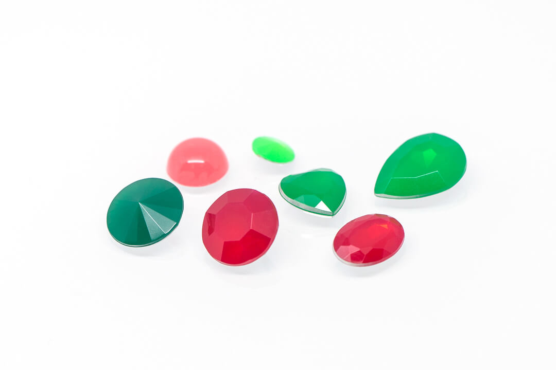 green and red rhinestones for jewelry-9