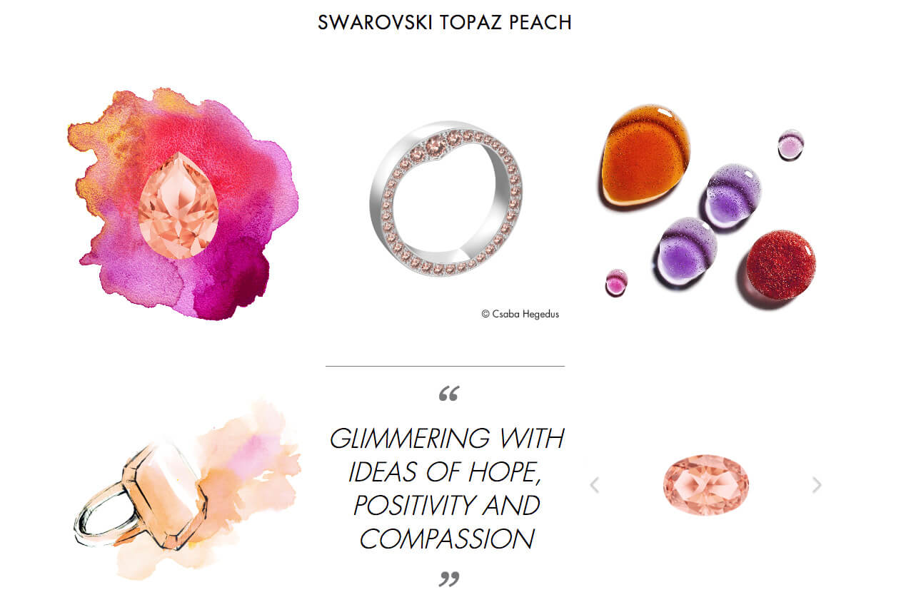 pantone color 2019 light coral-swarovski
