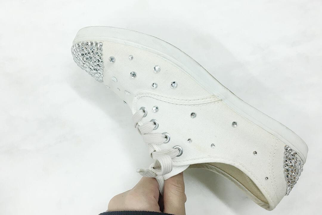 rhinestone shoes-rhinestone sneakers-2