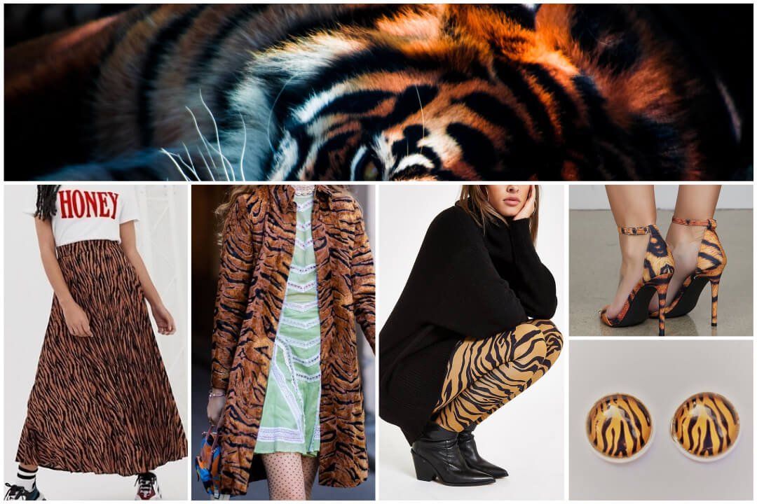 animal print fashion-tiger print