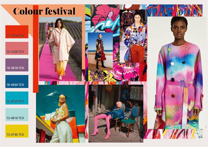 color trends for spring summer 2021-Colour festival