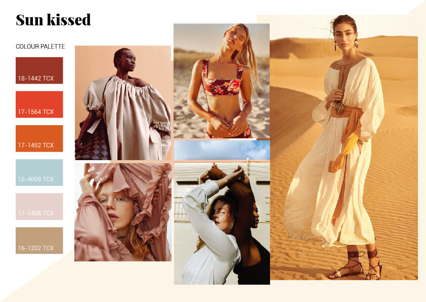 color trends for spring summer 2021-Sun Kissed