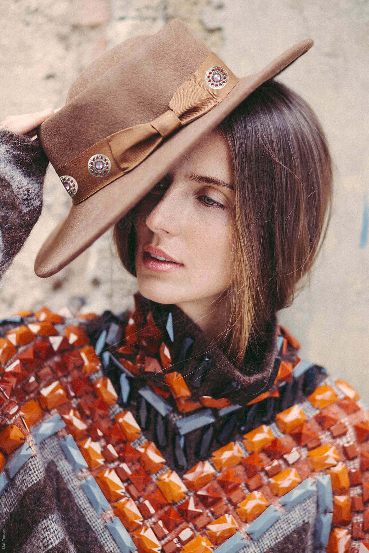 color trends for aw 2020-rhinestone hats