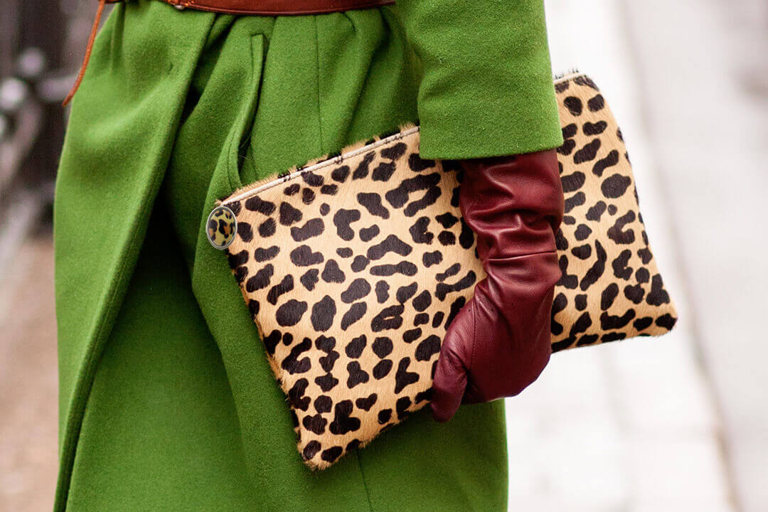 leopard clutch with buttonsleopard clutch with buttons