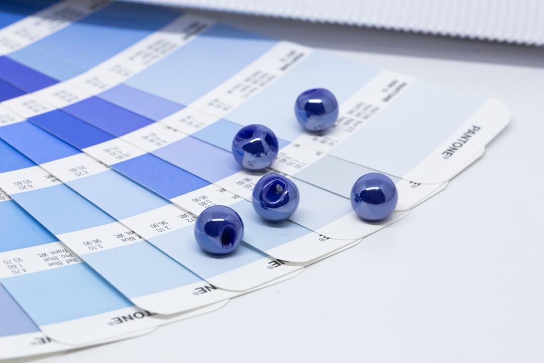 pantone 2020 classic blue buttons-royal blue buttons
