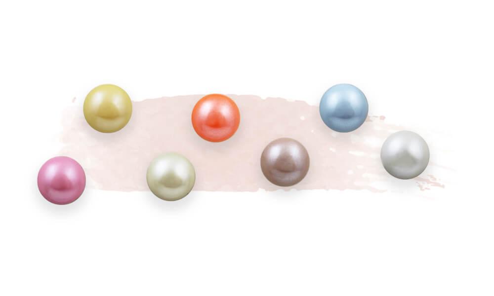 rhinestone color-pearl