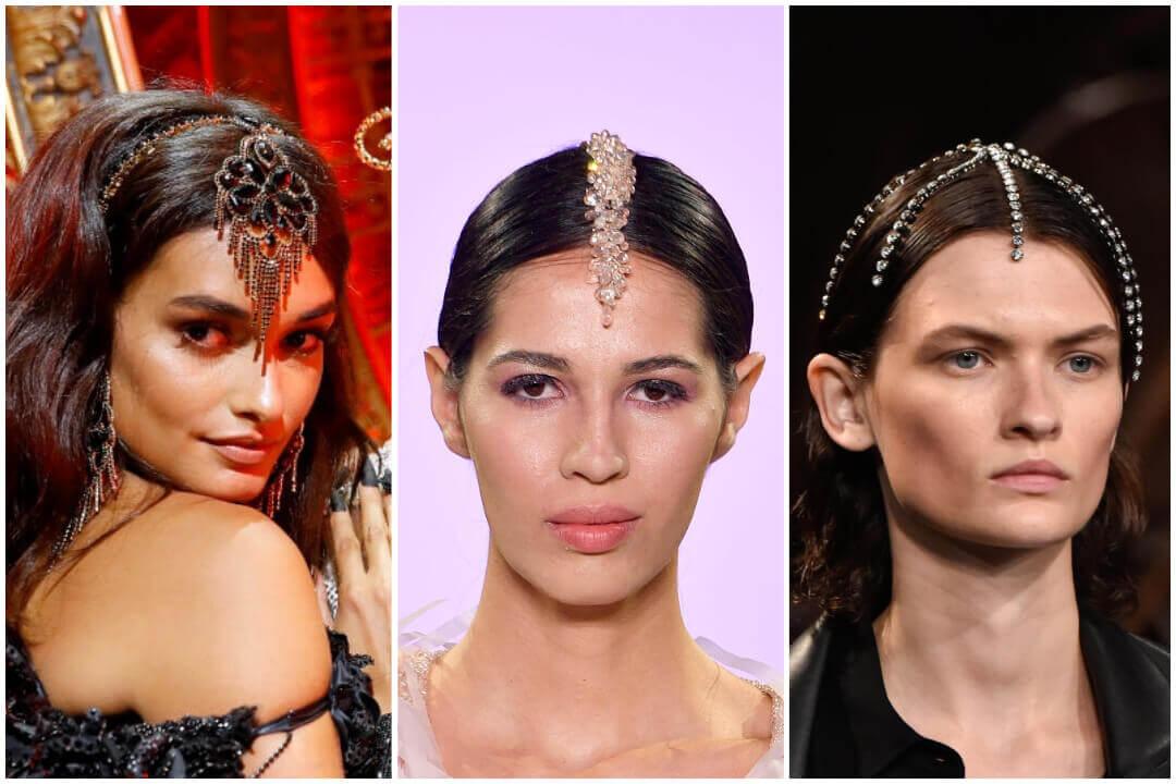 rhinestone hair accessories-headpieces
