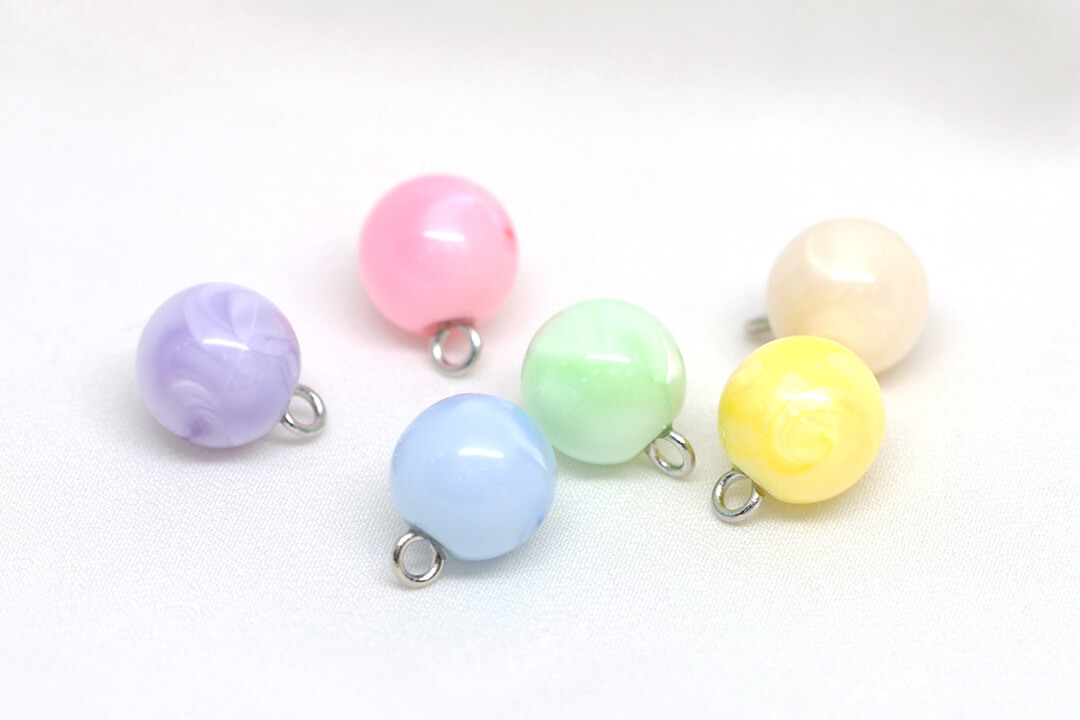 shank button-9 Pearl Buttons with Shank